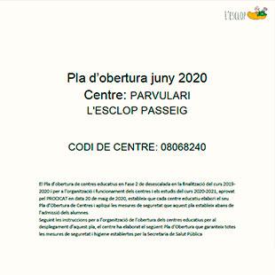 pla d'obertura juny 2020